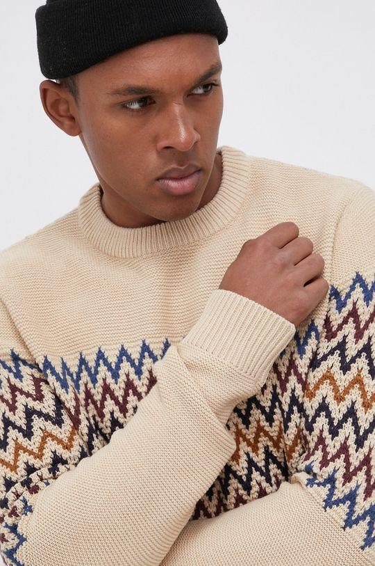 beżowy Jack & Jones - Sweter