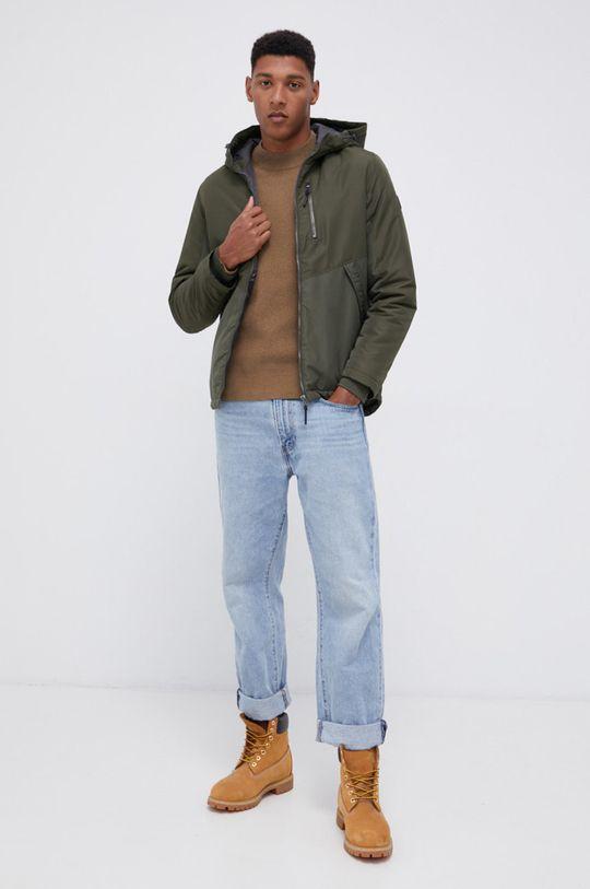 Premium by Jack&Jones - Sweter brudny brązowy