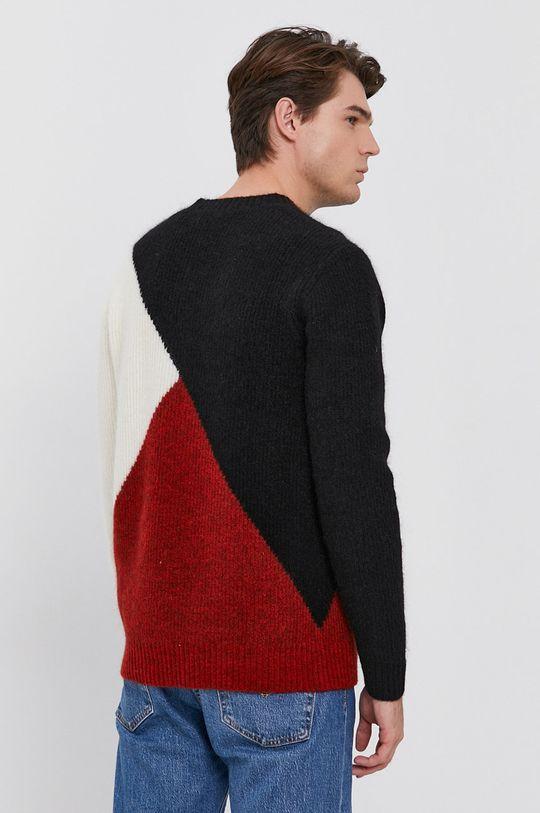 Karl Lagerfeld - Sweter wełniany 4 % Elastan, 20 % Moher, 28 % Poliamid, 48 % Wełna