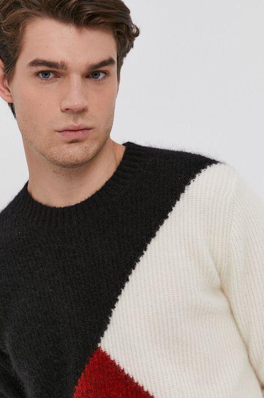czerwony Karl Lagerfeld - Sweter wełniany