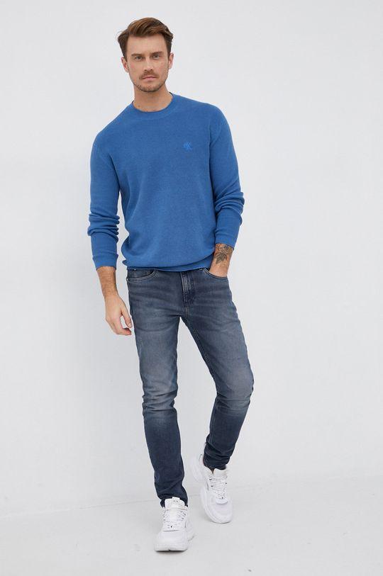 Calvin Klein Jeans - Pulover albastru