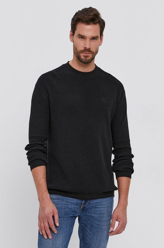 negru Calvin Klein Jeans - Pulover De bărbați