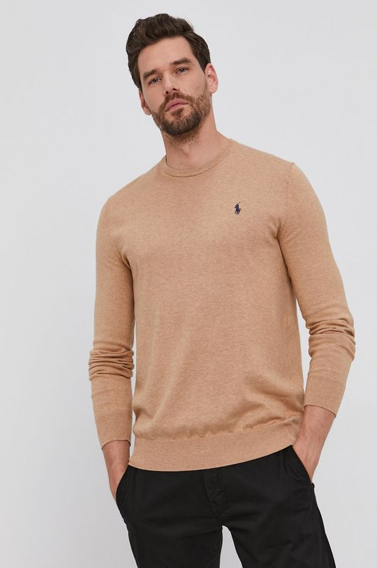 Polo Ralph Lauren - Sweter beżowy