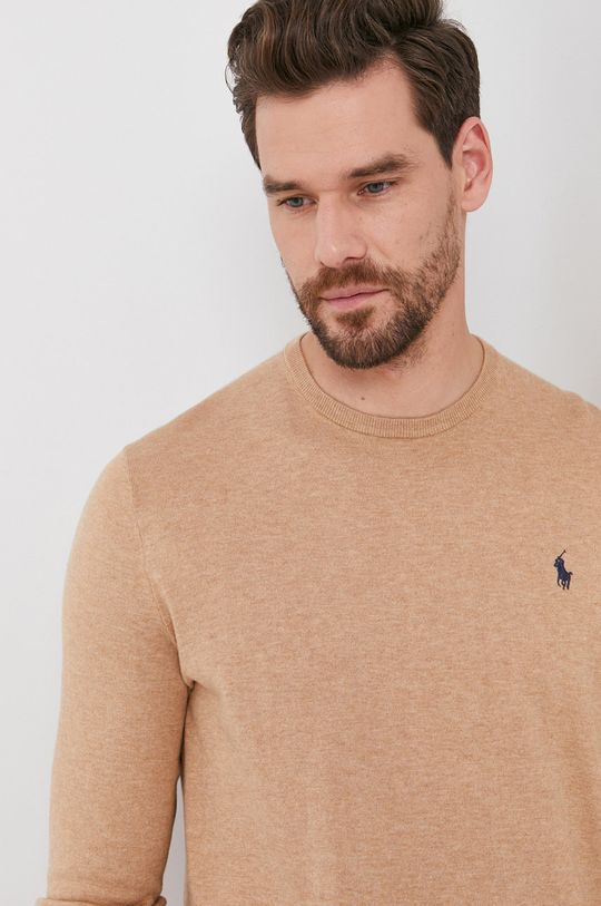 beżowy Polo Ralph Lauren - Sweter