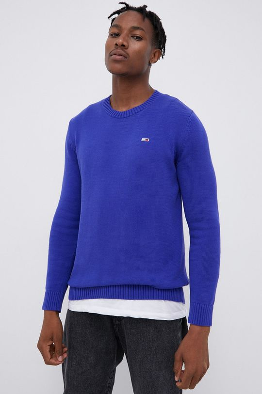 fioletowy Tommy Jeans - Sweter