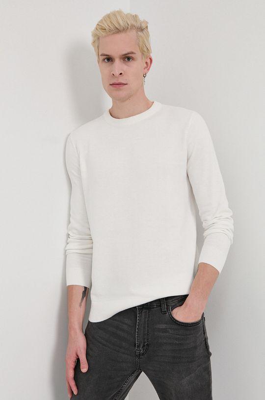 Tom Tailor - Sweter biały