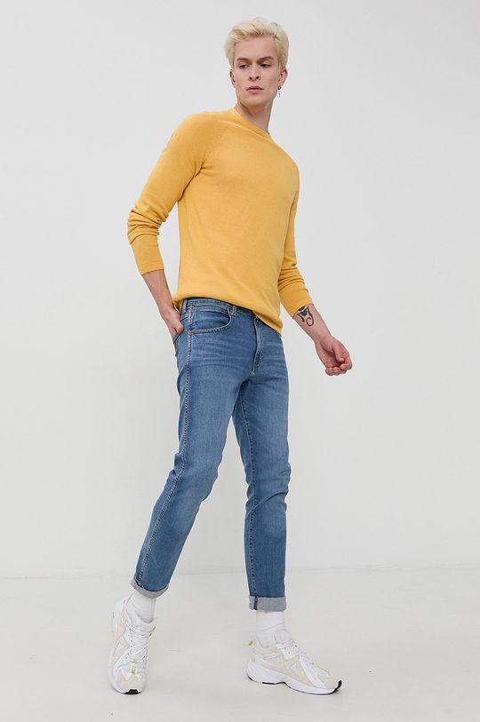 Tom Tailor - Sweter żółty