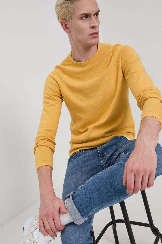 żółty Tom Tailor - Sweter