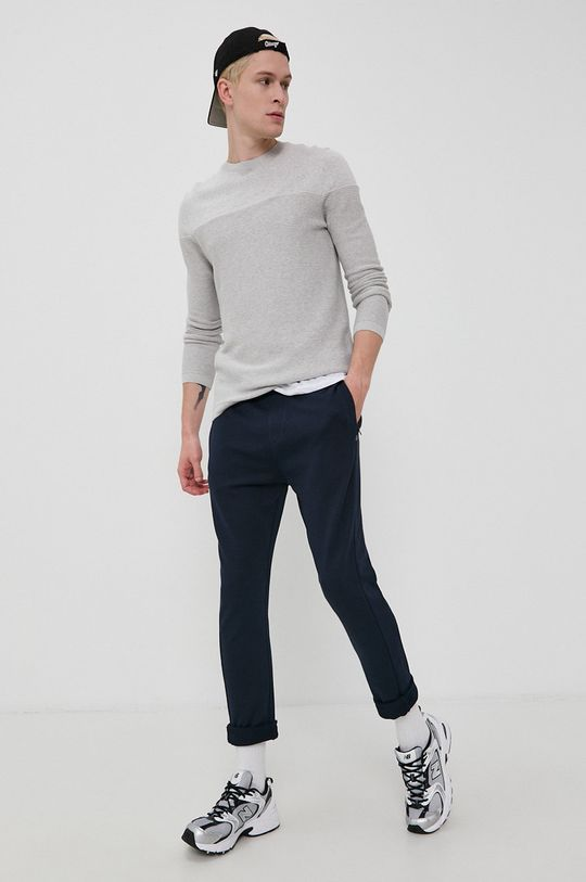 Tom Tailor - Sweter szary