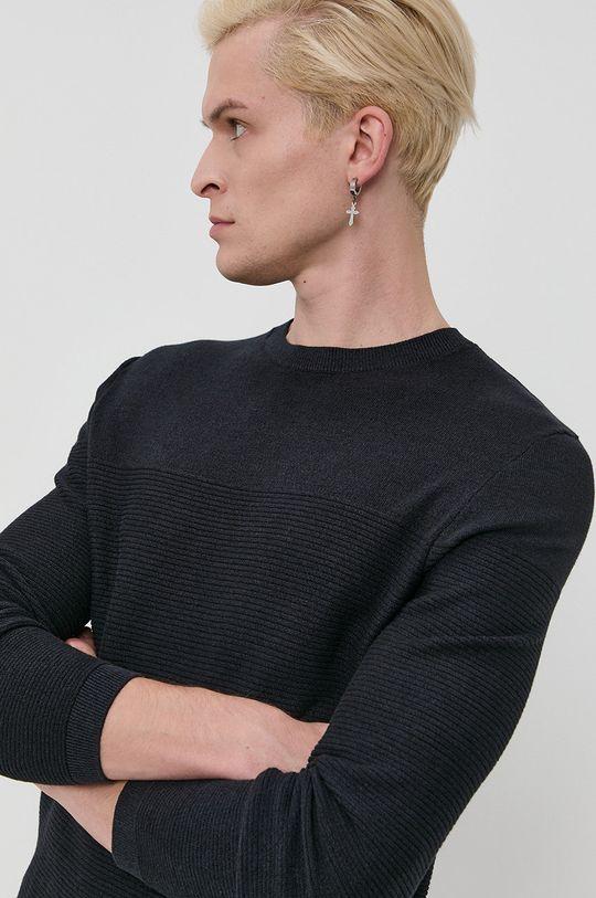 granatowy Tom Tailor - Sweter Męski
