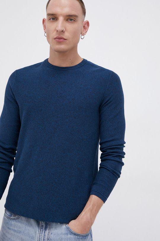 turkusowy Tom Tailor - Sweter bawełniany