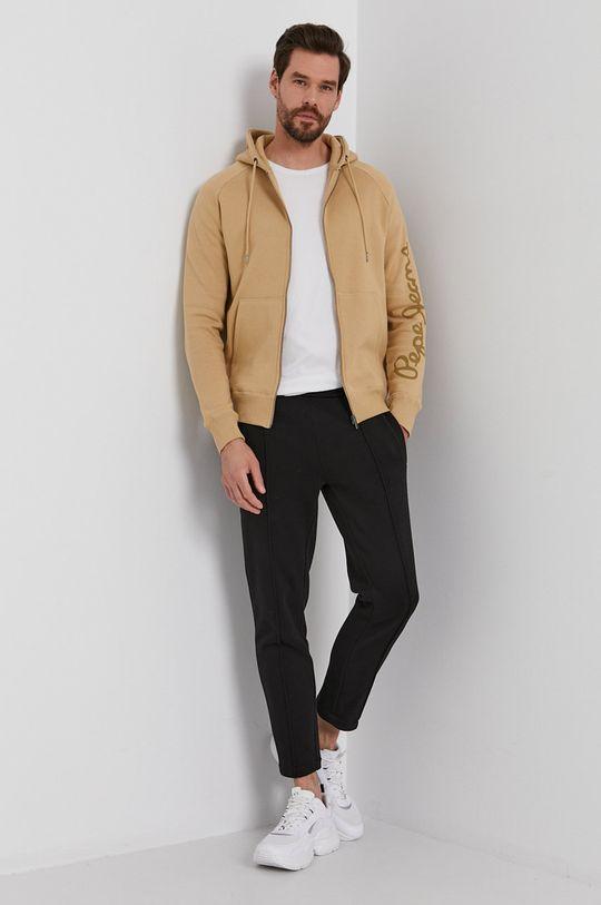 Pepe Jeans - Bluza Julian beżowy