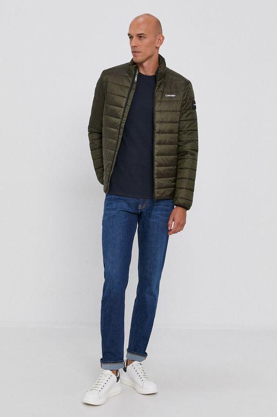 Calvin Klein - Sweter granatowy