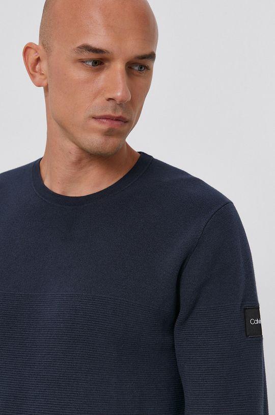 granatowy Calvin Klein - Sweter