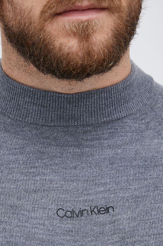 Calvin Klein - Sweter wełniany Męski