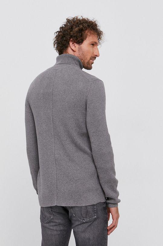 Calvin Klein Jeans - Sweter 95 % Bawełna, 5 % Kaszmir