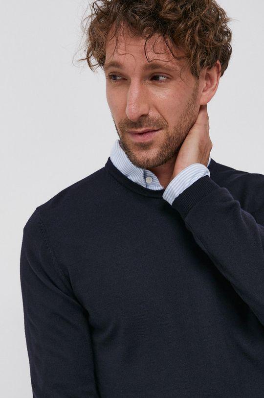 tmavomodrá Hugo - Vlnený sveter