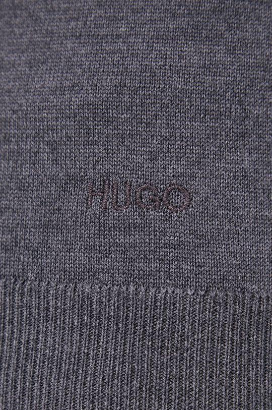 gri Hugo - Pulover de lana