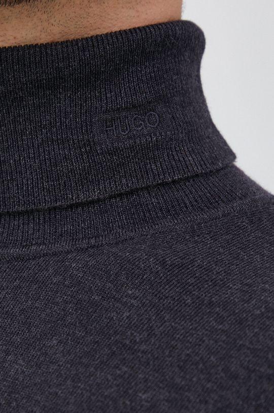 Hugo - Vlnený sveter Pánsky