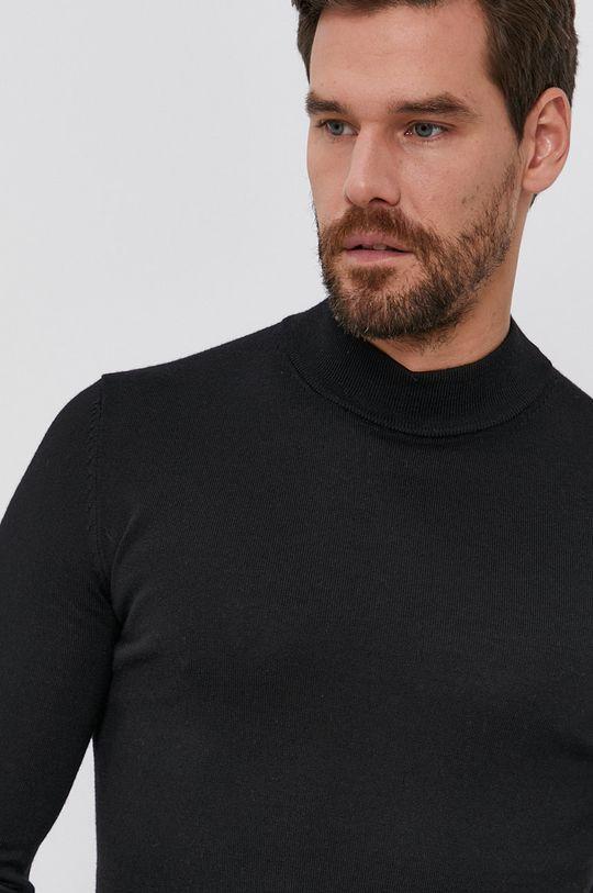 negru Hugo - Pulover de lana