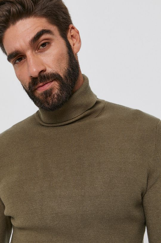 oliwkowy Guess - Sweter