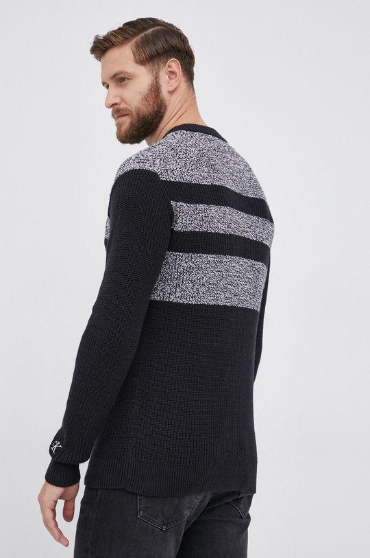 Calvin Klein Jeans - Sweter z domieszką wełny 78 % Bawełna, 17 % Poliamid, 5 % Wełna