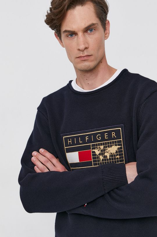 námořnická modř Tommy Hilfiger - Svetr