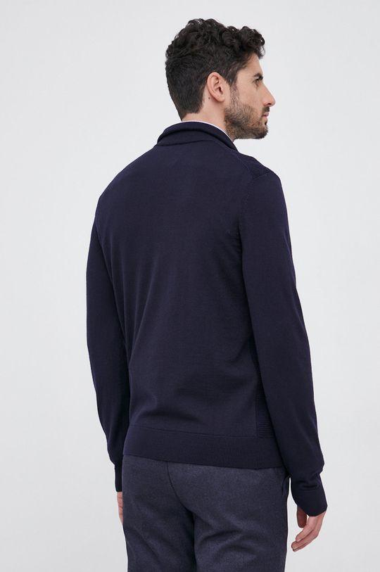 Boss - Sweter wełniany Materiał 1: 100 % Wełna dziewicza, Materiał 2: 38 % Bawełna, 62 % Wełna dziewicza