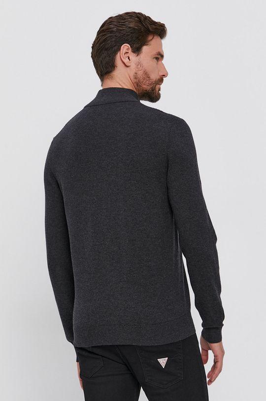 Boss - Pulover din amestec de lana  70% Bumbac, 30% Lana