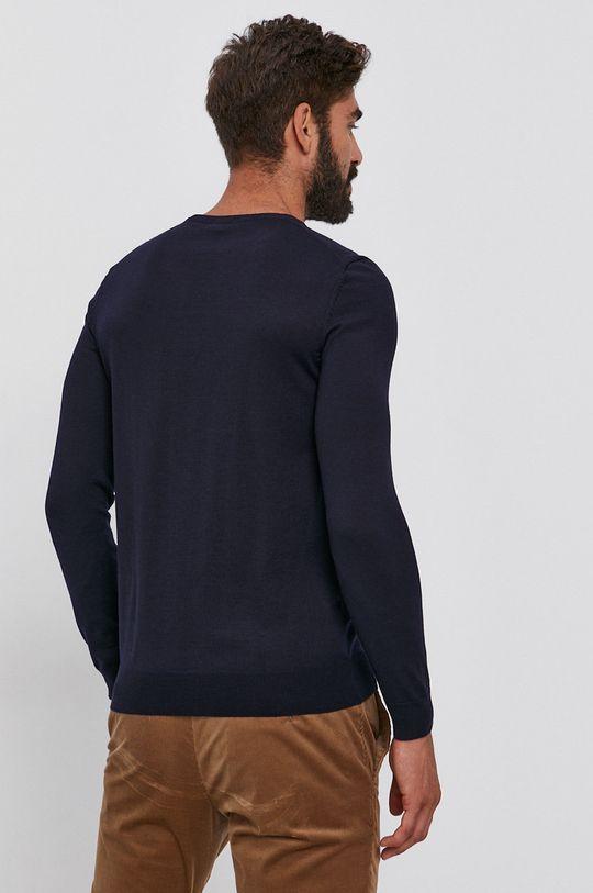 Boss - Vlnený sveter  100% Panenská vlna