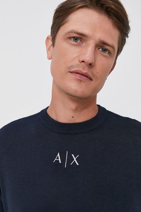 granatowy Armani Exchange - Sweter