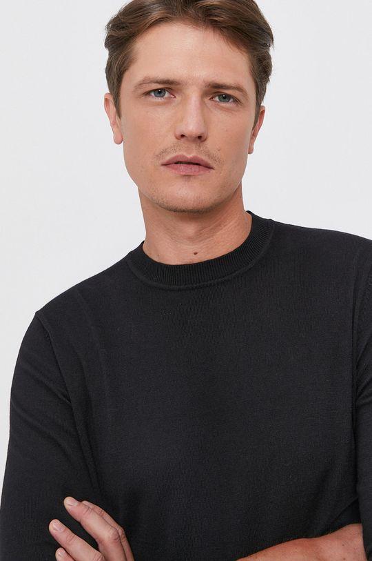 czarny Trussardi - Sweter