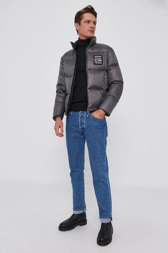 Trussardi - Sweter wełniany czarny