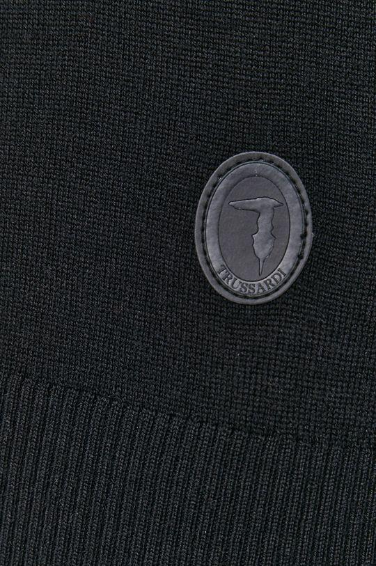 Trussardi - Sweter wełniany Męski