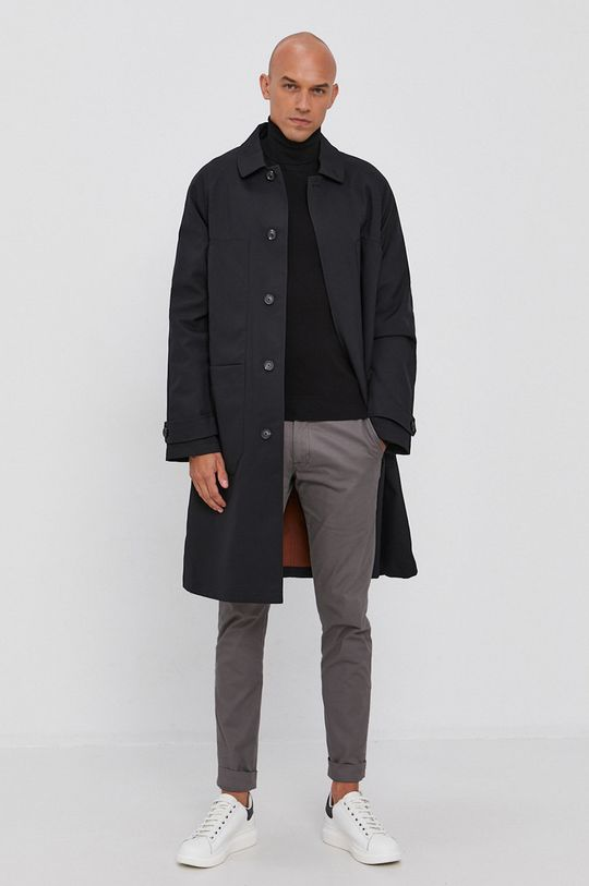 Trussardi - Sweter czarny