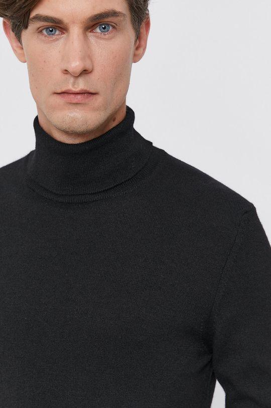 czarny Colmar - Sweter z domieszką wełny