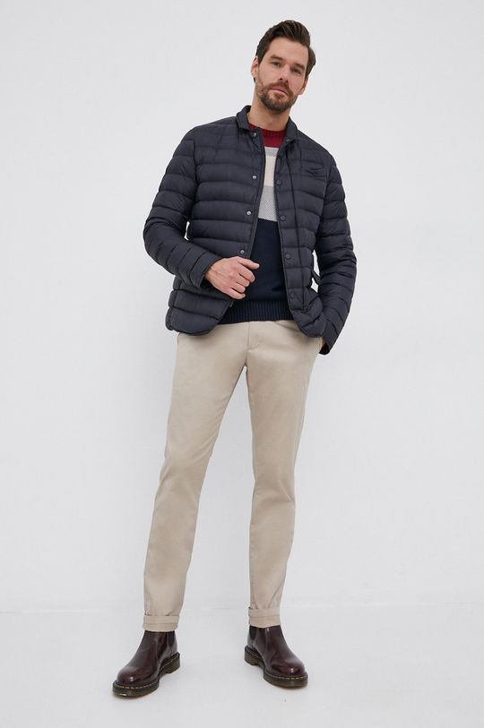Pepe Jeans - Sweter Francis granatowy