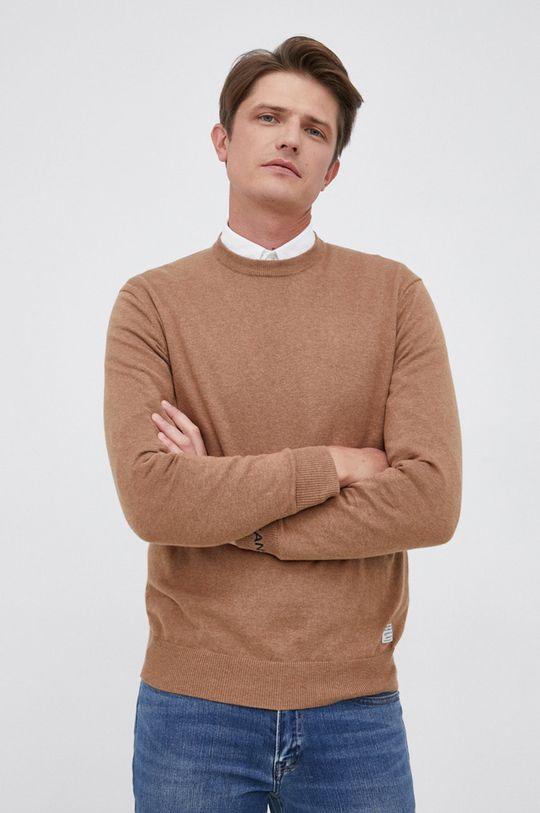 Pepe Jeans - Sweter z domieszką wełny Andre 94 % Bawełna, 3 % Kaszmir, 3 % Wełna