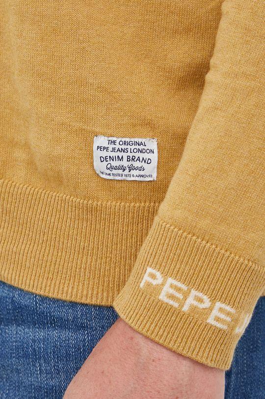 Pepe Jeans - Sweter z domieszką wełny Charles Męski