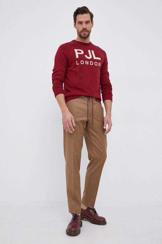 Pepe Jeans - Sweter Frederik czerwony
