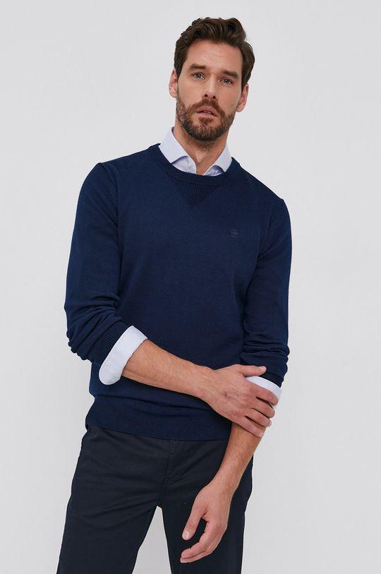 bleumarin G-Star Raw - Pulover de lana De bărbați