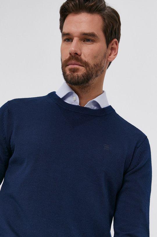 bleumarin G-Star Raw - Pulover de lana