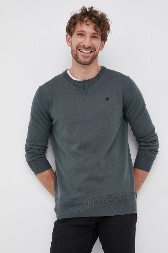 verde G-Star Raw - Pulover de lana De bărbați
