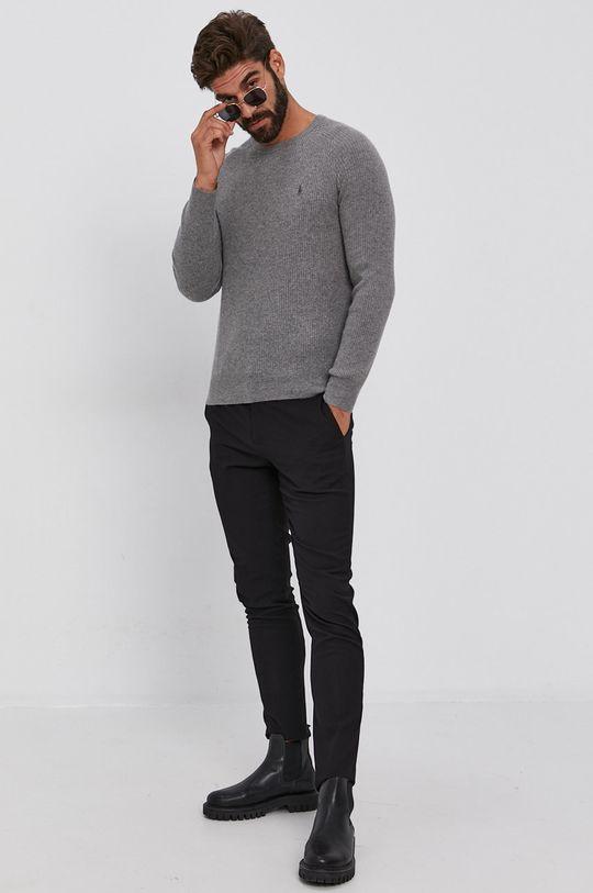 szary Polo Ralph Lauren - Sweter Męski