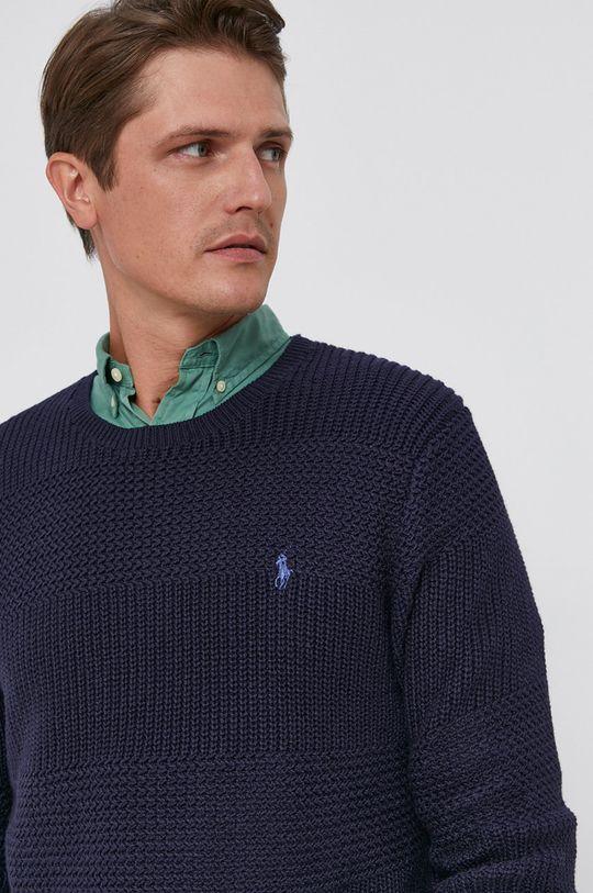 granatowy Polo Ralph Lauren - Sweter Męski