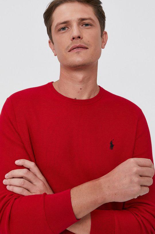 czerwony Polo Ralph Lauren - Sweter