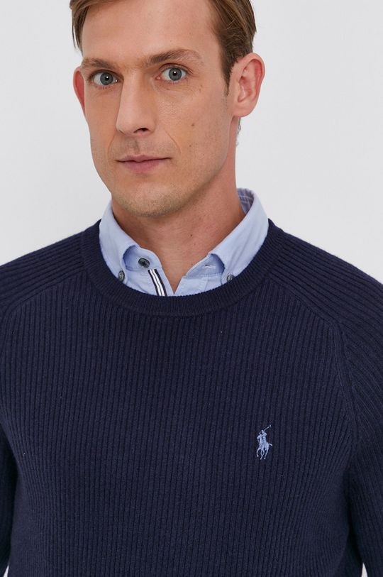 granatowy Polo Ralph Lauren - Sweter
