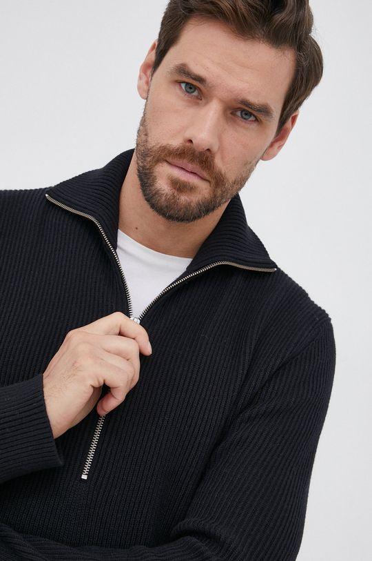 czarny Drykorn - Sweter Manuelo