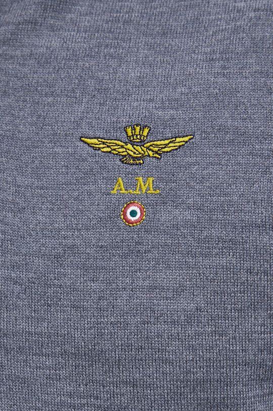 Aeronautica Militare - Sweter wełniany Męski