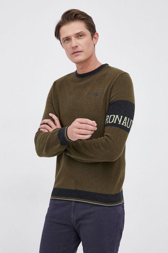 militarny Aeronautica Militare - Sweter wełniany